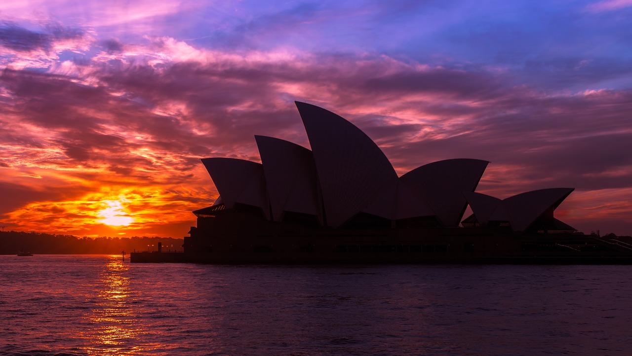 Australie pour la saint valentin